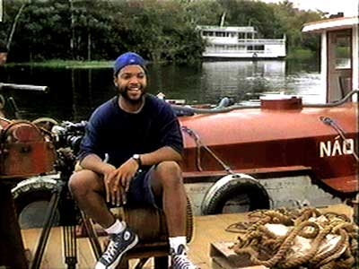 Ice Cube stars as cameraman Danny Rich in Anaconda