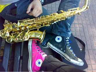 Chucks Have Sax Appeal