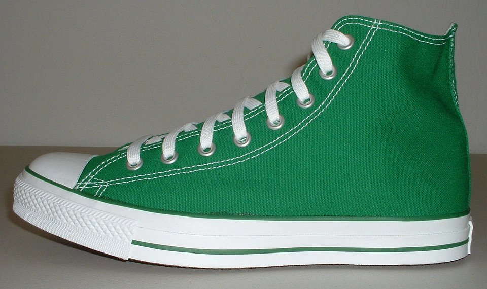 Celtic Green High Tops