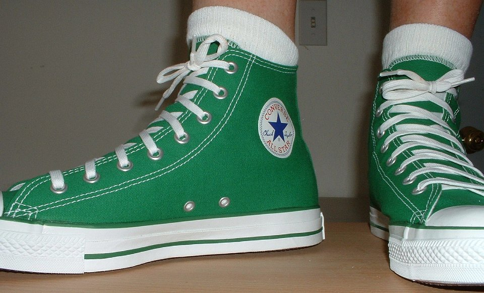 Celtic Green High Tops