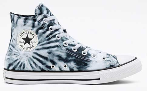 Black twisted vacation high top