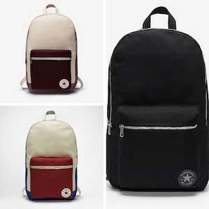 Converse canvas backpacks