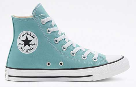 Ceramic Teal high top