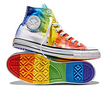 Converse Pride high top