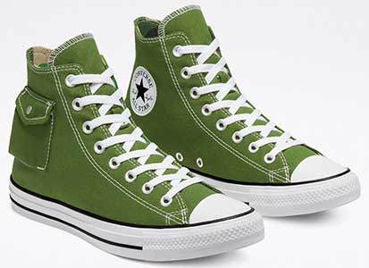 Cypress Green Side Pocket Chucks