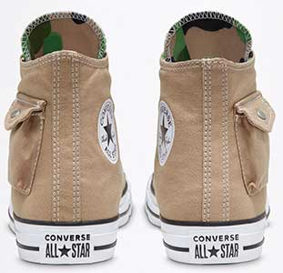 Khaki Side Pocket chucks