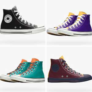 New colors of chucks
