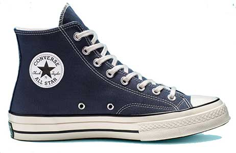 Obsidian Chuck 70 high top