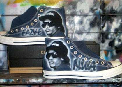 Eazy-E tribute chucks