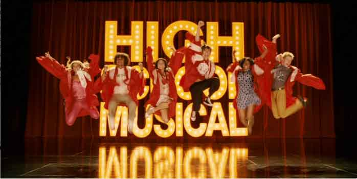 The main cast of players for High School Musical 3