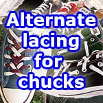alternate lacing for chucks