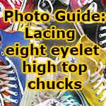 lacing guide for high top chucks