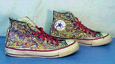 db8cf70a2afb 5 Hand Painted or Tie-Dyed High Top Chucks Custom painted white high tops
