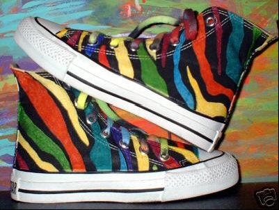3e34fe6378f1 Hand Painted or Tie-Dyed High Top Chucks