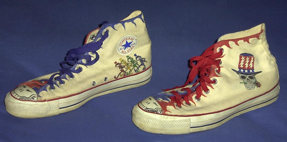 92180066877a 22 Hand Painted or Tie-Dyed High Top Chucks Custom painted chucks