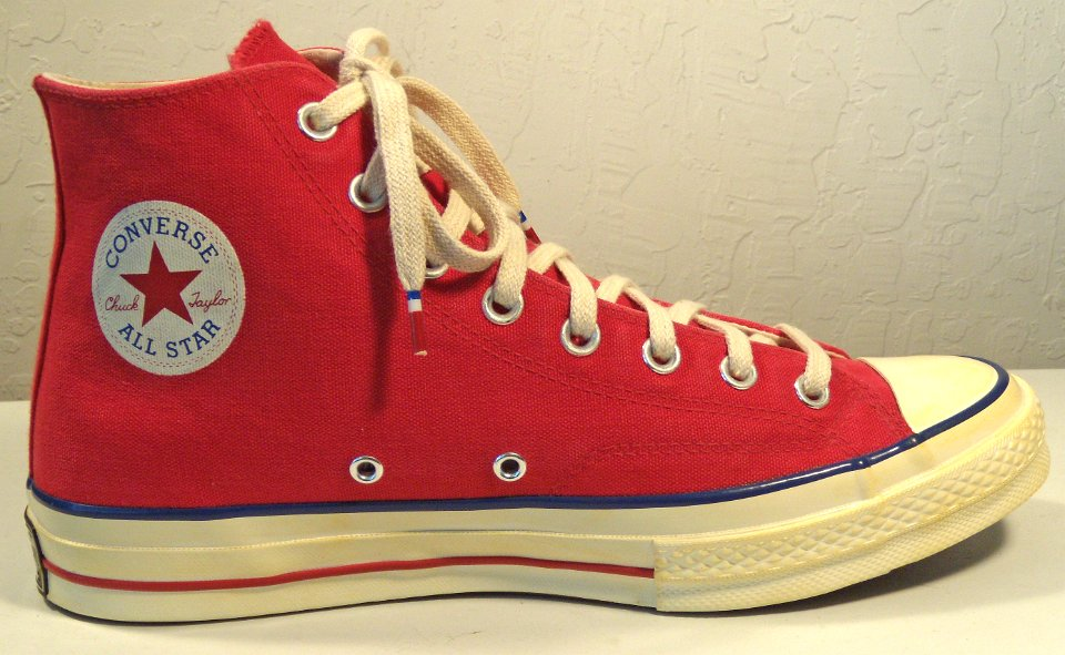 Chuck 70 Vintage Red Canvas High Top