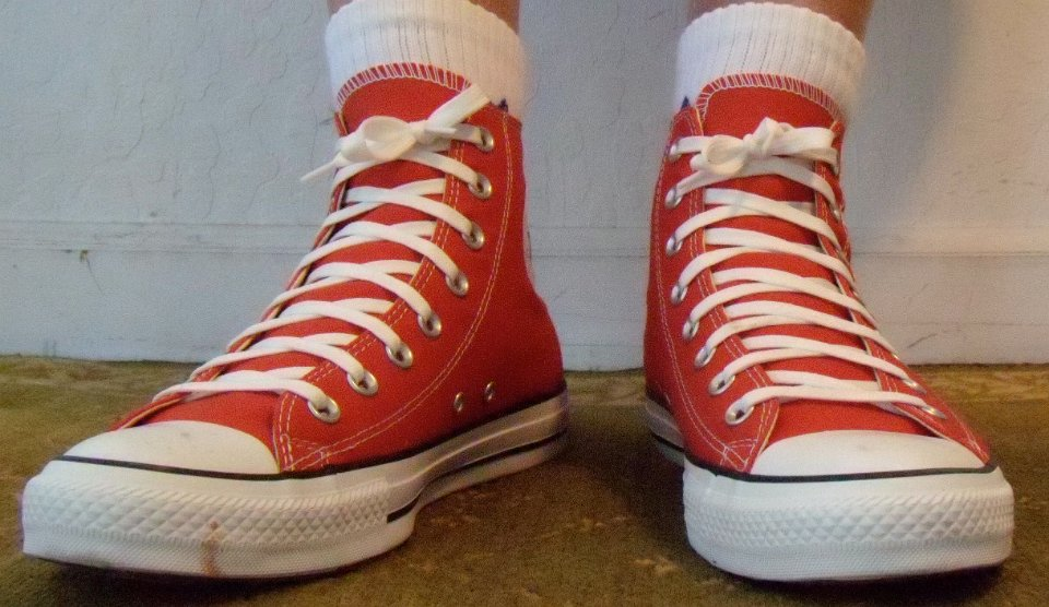 Red Clay High Tops