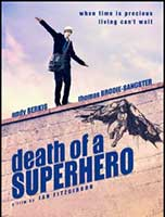 Death of a Superhero cover
